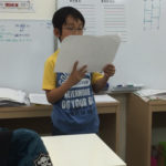 読書感想文の発表会が行われました!