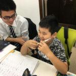 ☆楽しく勉強する小学生☆