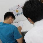 夏期講習での学習の様子
